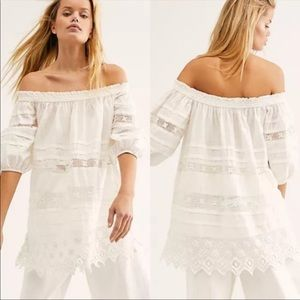 Free People | Sounds of Summer Tunic in Ivory